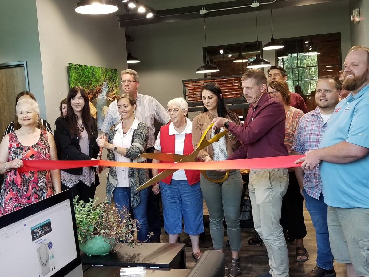 Ribbon Cutting at Dot Marketing and Design in Rapid City